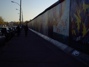The East Side Gallery, the worlds longest open air art gallery.