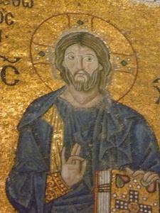Mosaic of Jesus