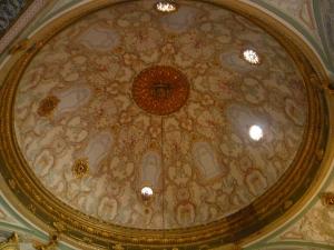 inside Süleymaniye mosque