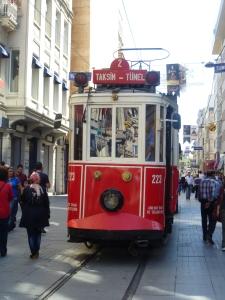 Antique tram