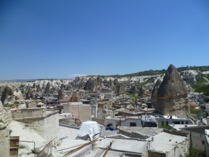 view from the hotel - Goreme
