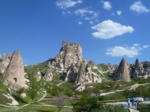 Uchisar rock castle