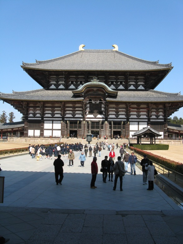 We spent the day in Nara National Park - its amazing!