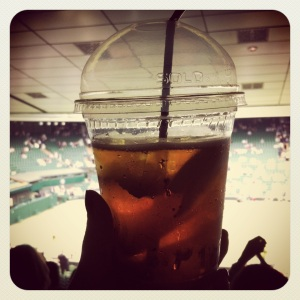 Pimms at Wimbledon
