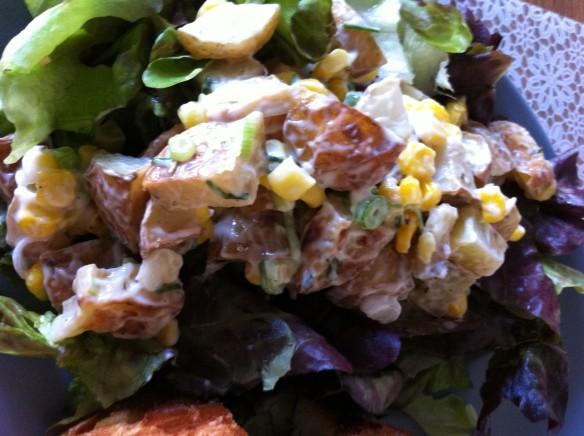 Salad ready