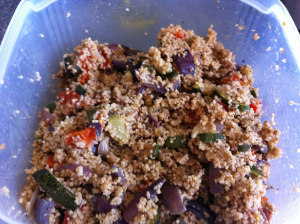Lebanese spiced couscous