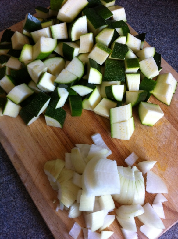 Getting the ingredients together