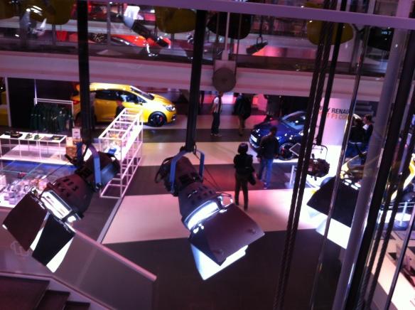 Inside L'aterlier Renault