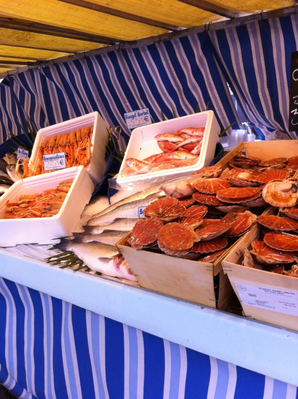 Lots of lovely French fish for sale