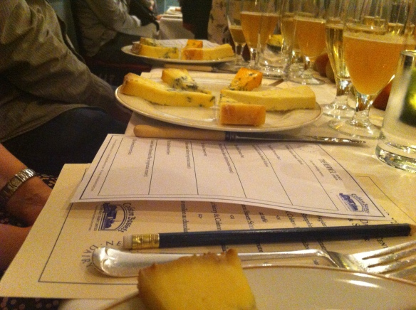 a table full of cheese!
