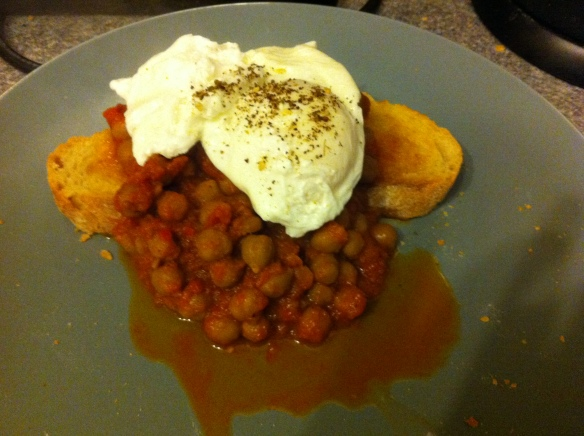 serve on toast with a poached egg... yum!