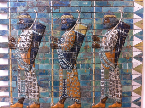 It would be hard to reminise about the art in Berlin without thinking about all the incredible art it has displayed on Museum Island. This particular image is a snapshot of the Ishtar gate, the gate way to Ancient Babylon. Its one of the most stunning piece of architecture and art.