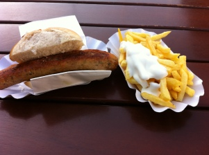 As much as I love Bratwurst sometimes you need more.