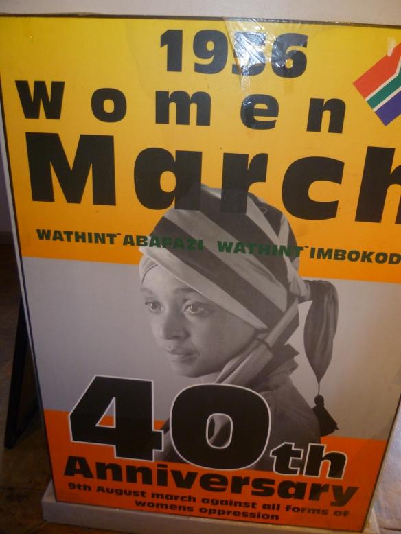 Mandela House, an ANC Poster