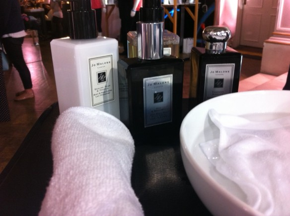 some of the lovely Jo Malone products that will be on sale in the new T2