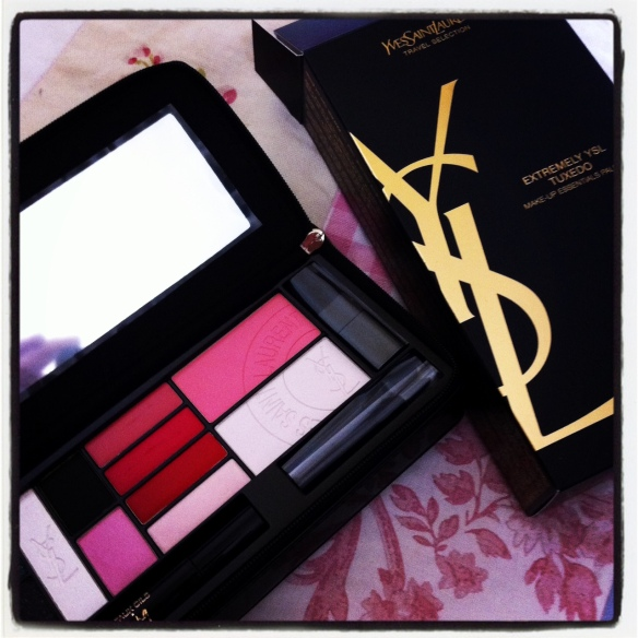 Gorgeous Yves Saint Laurent products on sale in World Duty Free shop.