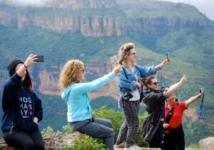 Selfies at Blyde River Canyon, of course!