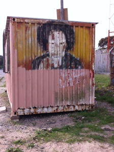 One of the ingenious ways that people are making life better for themselves in the townships is by using old shipping containers and turning them into shops and business, such as hairdressers, clothes shops and street food venders.