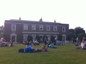 A fabulous evening of Jazz in the gardens of Fulham Palace