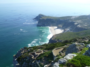 The rugged coastline of Cape Point, just beautiful