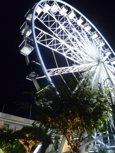 night time at the V&A Waterfront