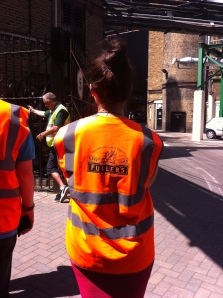 Who doesn't love a tour with a high vis-vest