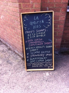 La Grotta ices - so many flavours
