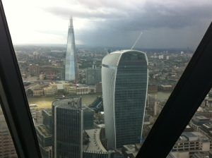 Views from the top  - hello shard!