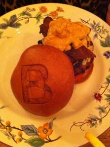 The Peanut Butter burger