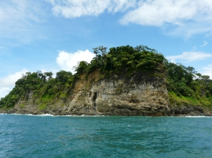 Manuel Antonio National Park from teh Catamaran