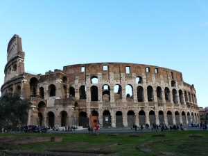 the Colosseum, what else!