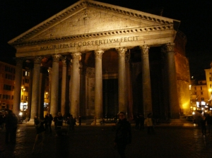 the gorgeous Pantheon
