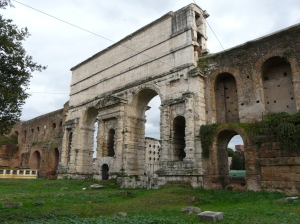 the forgotten triumphal arches of an empire long gone