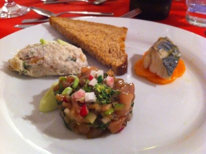 Mackerel Three Ways