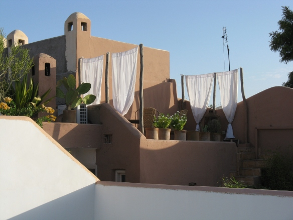 Rooftop memories - life on the top of a riad is calm away from the hustle and bustle of the streets below.