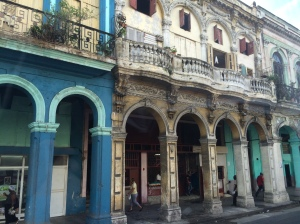 The colourful streets of Havana