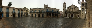 Even the rain cannot dampen the spirit of Havana