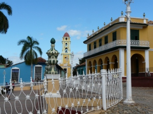 The colonial square of Trinidad