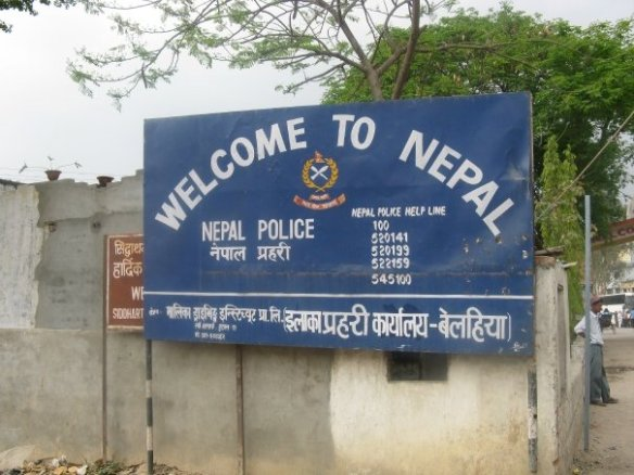 Leaving the chaos if India behind for the peaceful boarders of Nepal