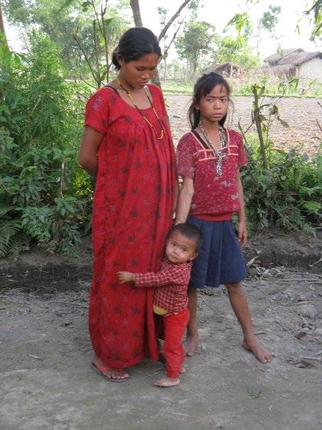 A family who live within Chitwan National Park, we visited their village and their farm while we were on safari there. They were so welcoming.