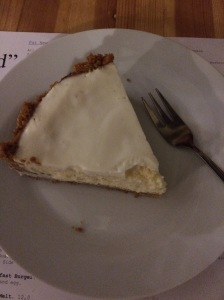 Cheesecake, not the best, not the worst