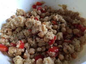 Tomato and Za'atar Couscous Salad